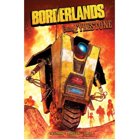 [order con dedicatoria] BORDERLANDS 02: La caída de Fyrestone