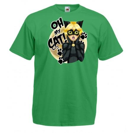 Camiseta Chat Noir