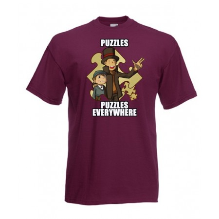 Camiseta Puzzles Everywhere