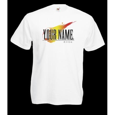 Camiseta Your Name: parodia