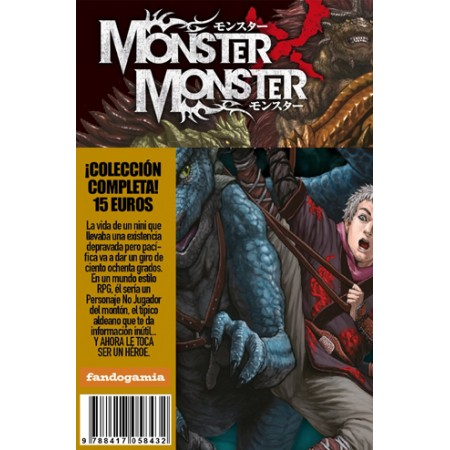 MONSTER×MONSTER Colección Completa