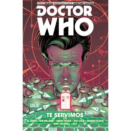 11º DOCTOR WHO 02: TE SERVIMOS