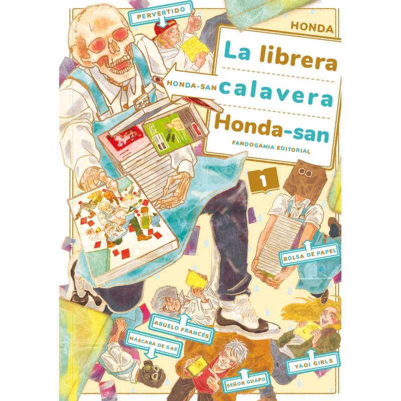 Reseña de La librera calavera Honda-San 1