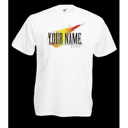 Camiseta Your Name: parodia